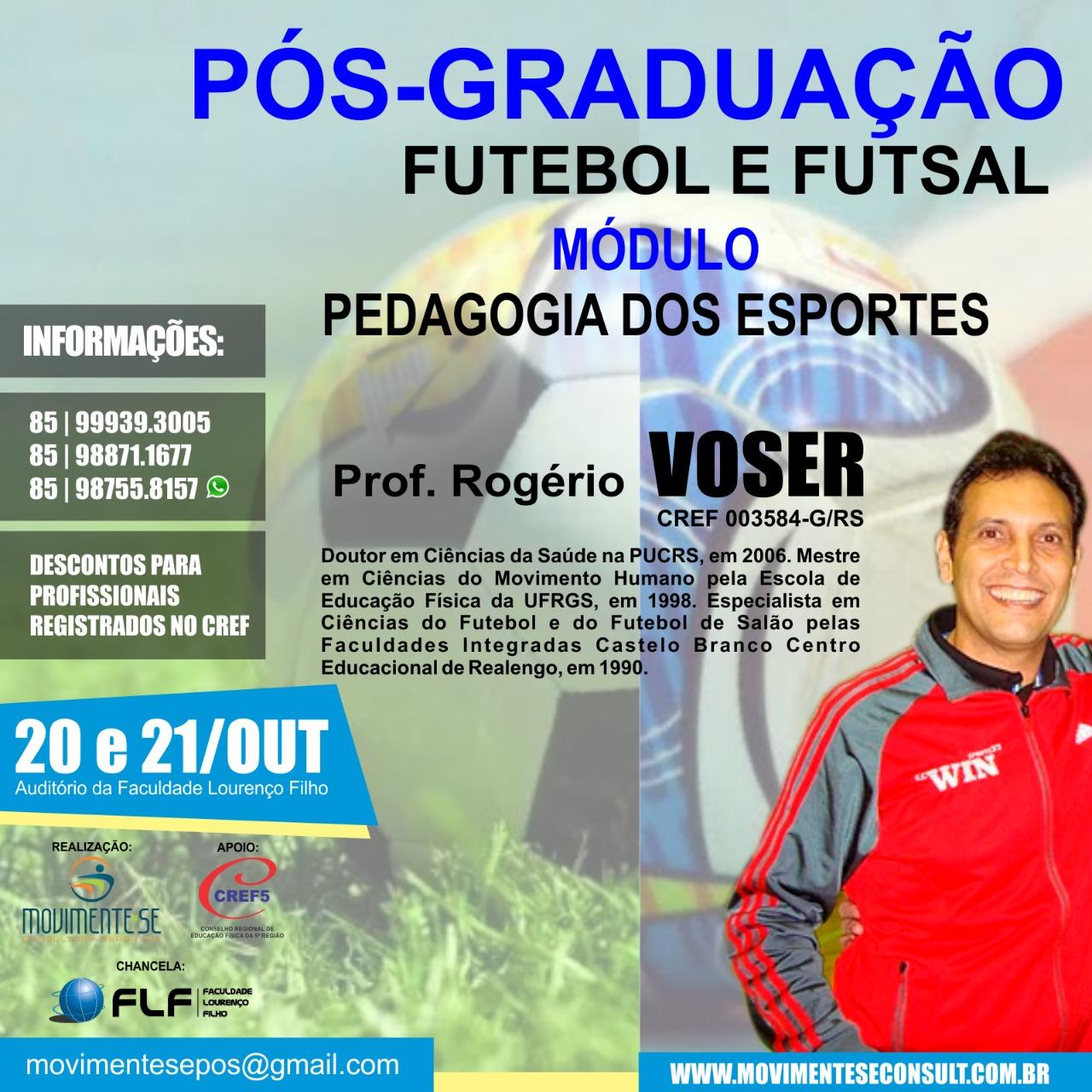 Pós Graduação em Futsal e Futebol