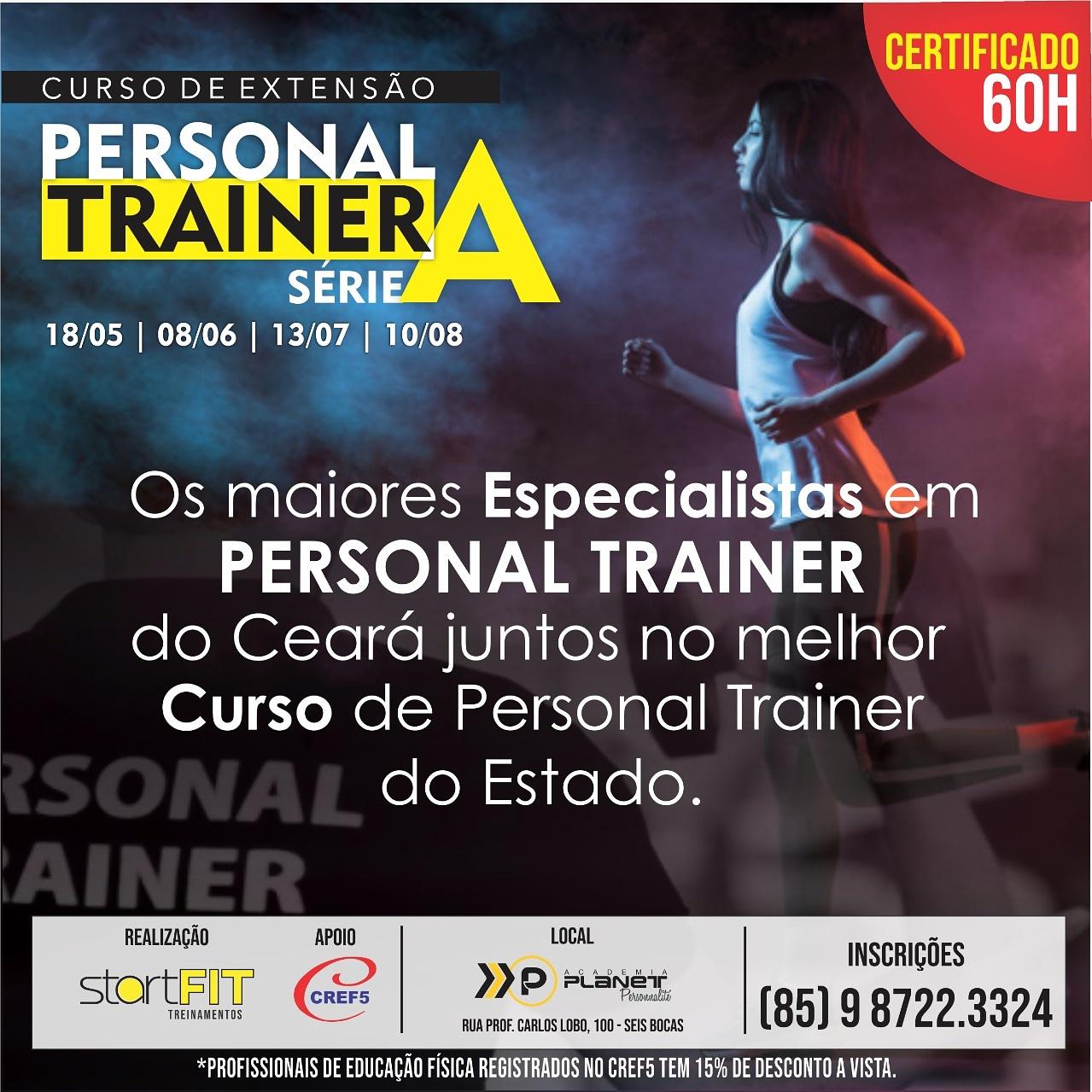 Curso de Extensão: Personal Trainer série A