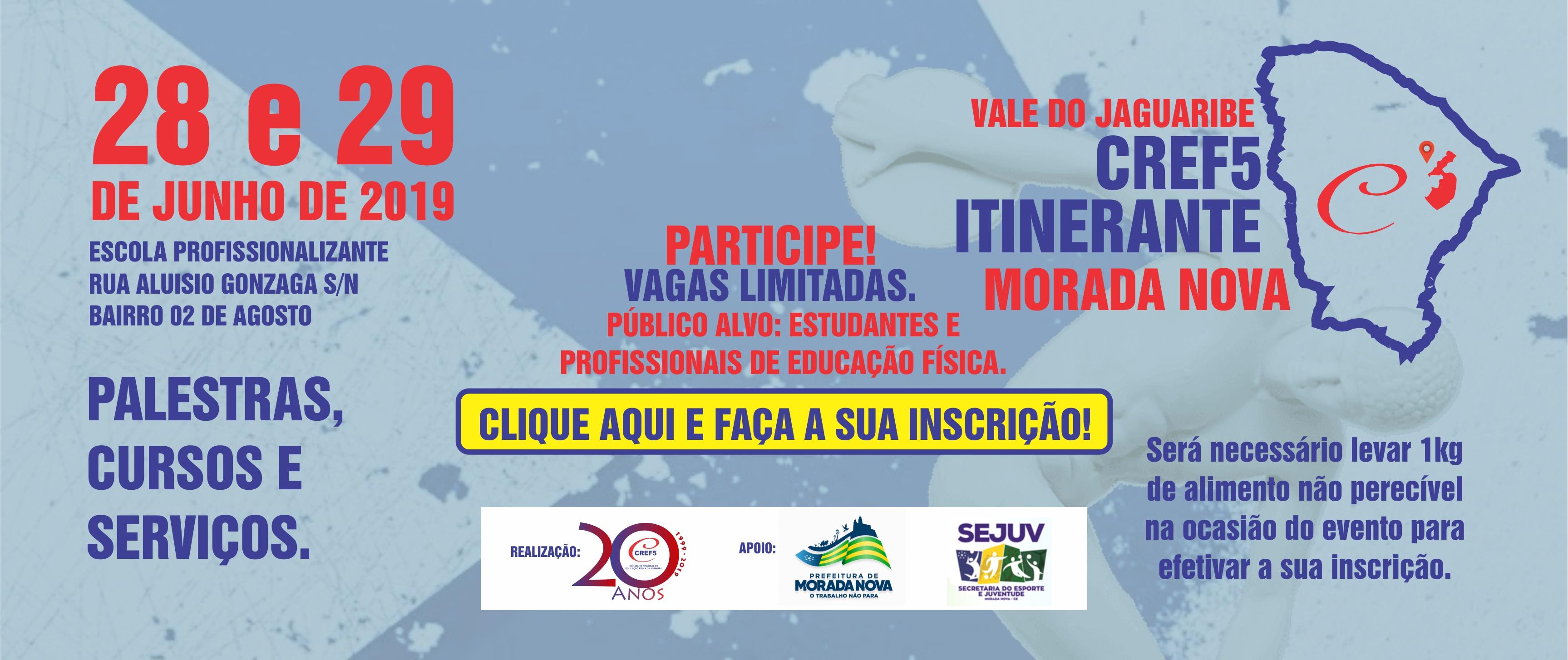 CREF5 ITINERANTE: MORADA NOVA