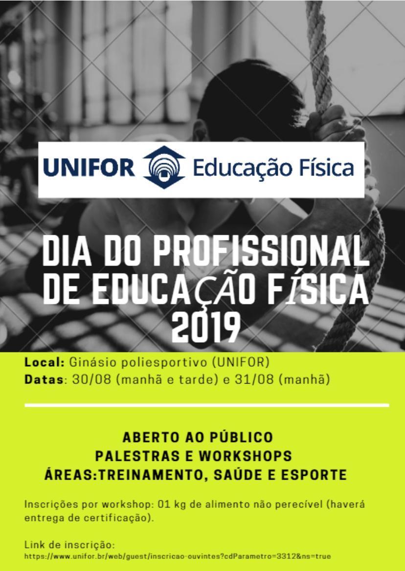 Dia do Profissional de Educação Física na Unifor