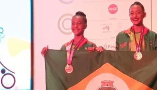 Equipe cearense de ginástica rítmica tem vitória histórica