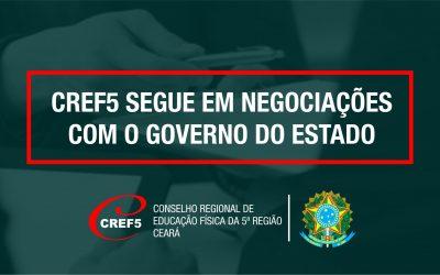 CREF5 SEGUE EM NEGOCIAÇÕES COM O GOVERNO DO ESTADO
