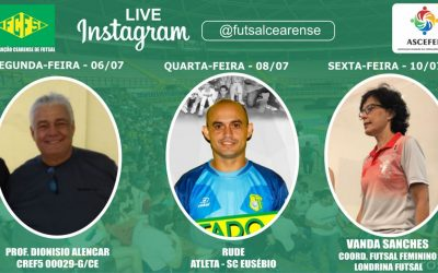 LIVE DA FEDERAÇÃO CEARENSE DE FUTSAL