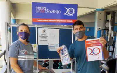 CREF5 REALIZA CAMPANHA DE VALORIZAÇÃO PROFISSIONAL NAS ACADEMIAS