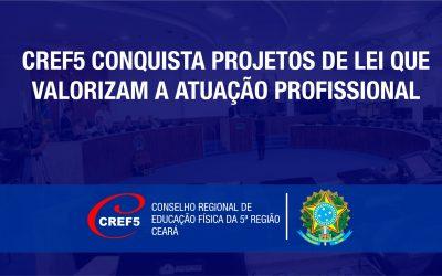Conquista do CREF5: Projetos de lei que valorizam a atuação profissional em Fortaleza