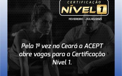 Turma 1 – Certificação Nível 1 Associação Cearense de Personal Trainers (ACEPT)