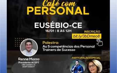 Palestra: As 5 Competências dos Personal Trainers de Sucesso – Prof. Rennê Mazza – Presidente da ACEPT