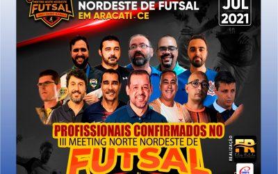 III MEETING NORTE NORDESTE DE FUTSAL