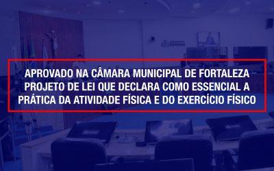 Vitória da Educação Física: Exercício físico pode se tornar essencial em Fortaleza