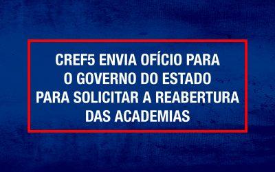 Proposta para que a abertura das academias aconteça a partir do dia 12 de abril