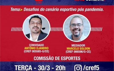 C̶O̶N̶E̶X̶Ã̶O̶ ̶C̶R̶E̶F̶5̶: Desafios do cenário esportivo pós pandemia.