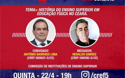 C̶O̶N̶E̶X̶Ã̶O̶ ̶C̶R̶E̶F̶5̶: HISTÓRIA DO ENSINO SUPERIOR EM EDUCAÇÃO FÍSICA NO CEARÁ