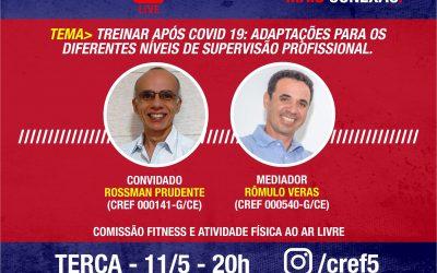 C̶O̶N̶E̶X̶Ã̶O̶ ̶C̶R̶E̶F̶5̶: Treinar após COVID 19: Adaptações para os diferentes níveis de supervisão profissional