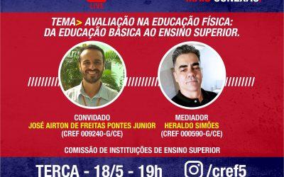 C̶O̶N̶E̶X̶Ã̶O̶ ̶C̶R̶E̶F̶5̶: AVALIAÇÃO NA EDUCAÇÃO FÍSICA: DA EDUCAÇÃO BÁSICA AO ENSINO SUPERIOR