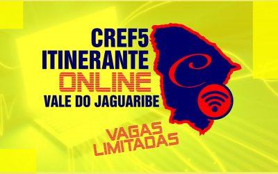 CREF5 ITINERANTE OFERECE CURSOS E ATENDIMENTOS ONLINE